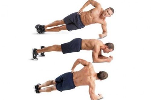 Plank roll
